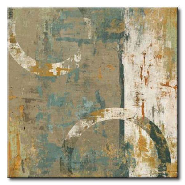 32_BRl05 _ Elation I / Cuadro Abstracto, Circulos y Textura