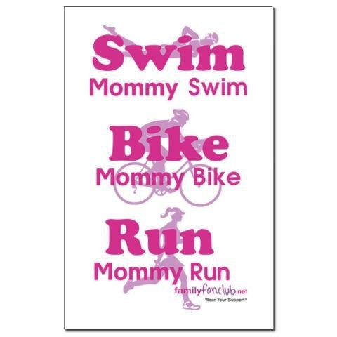 Triathlon Mommy triathlon
