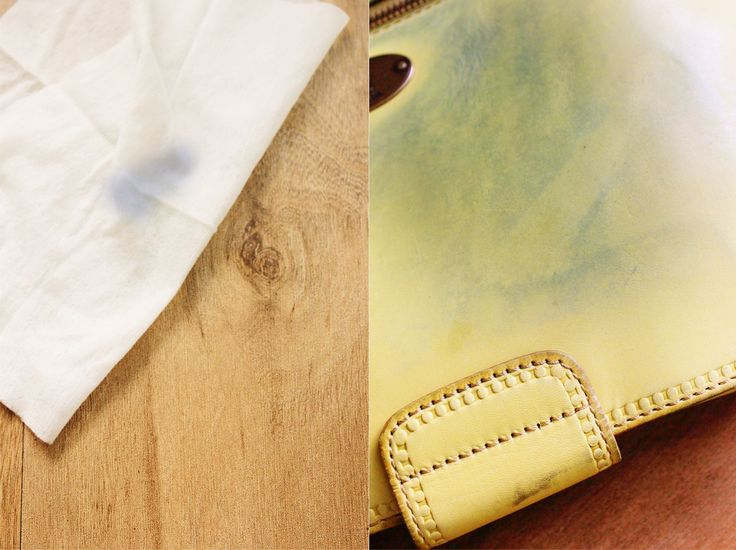 How to remove those horrible jean stains from a light How to get stains out of white leather