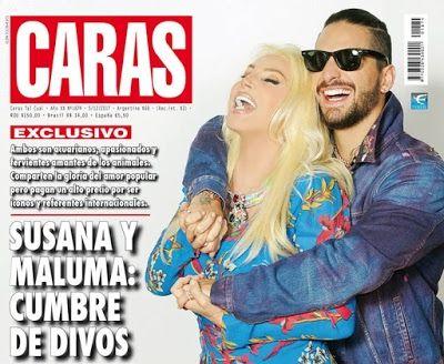 ¡Salió revista Caras - SUSANA Y MALUMA: CUMBRE DE DIVOS!.