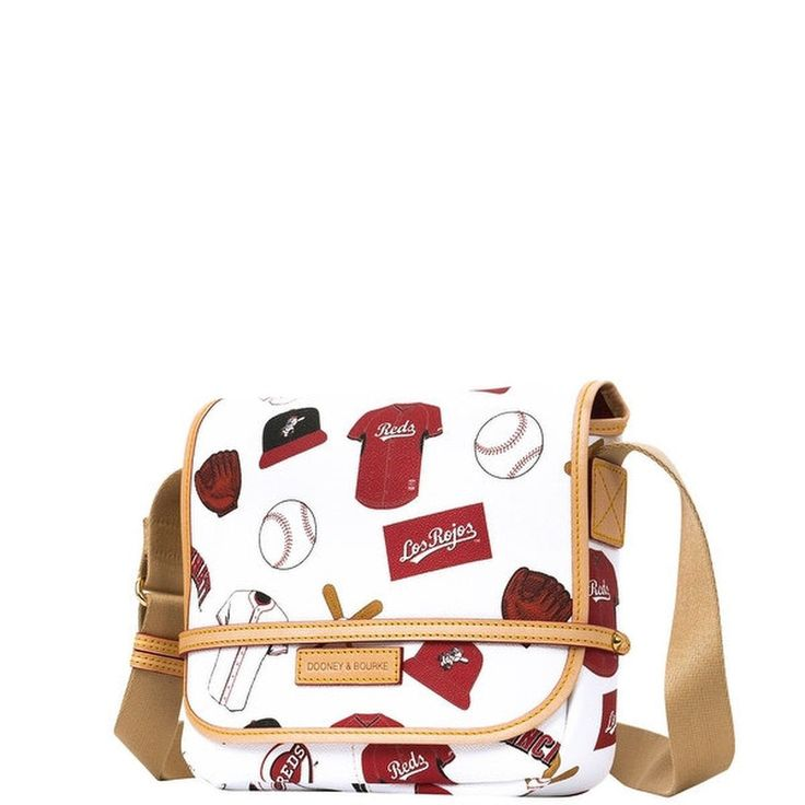 155.41$  Watch here - http://vidta.justgood.pw/vig/item.php?t=75dan5u12863 - Dooney & Bourke MLB Reds Small Messenger (Introduced by Dooney & Bourke at $2... 155.41$