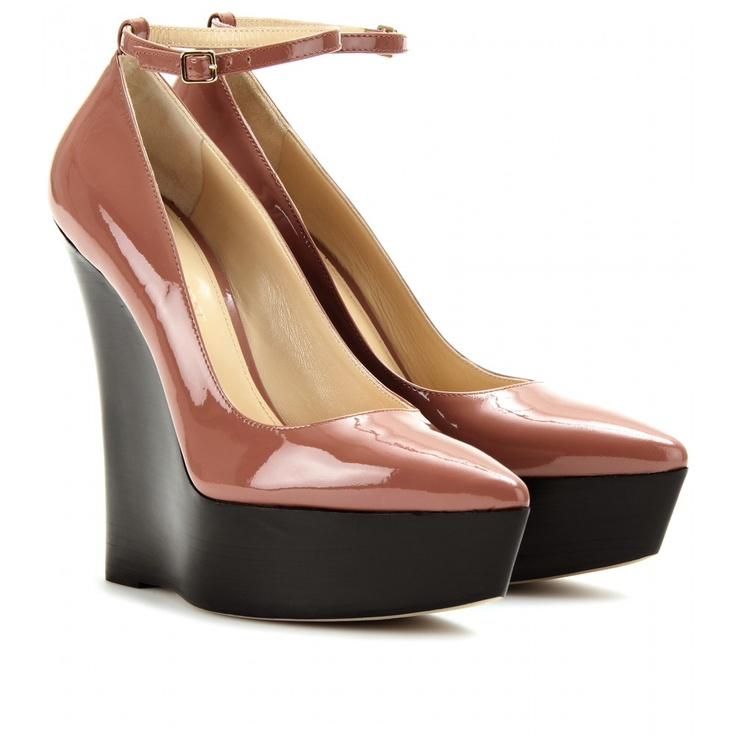 Chatsworth Platform Wedges Burberry Prorsum