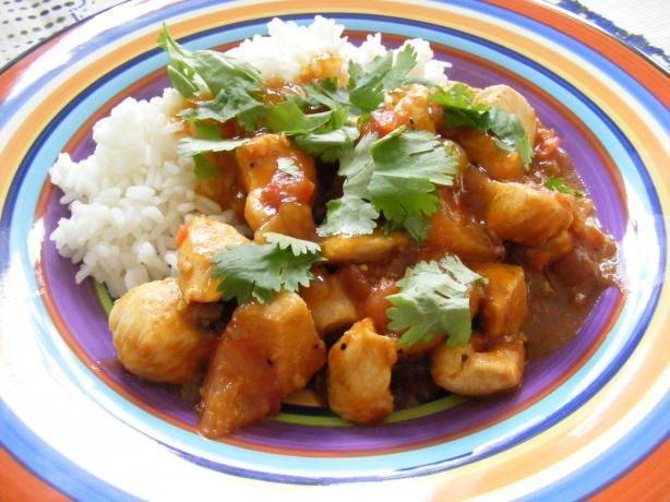 Chicken Curry With Mango Chutney from Food.com: This recipe was picked ...
