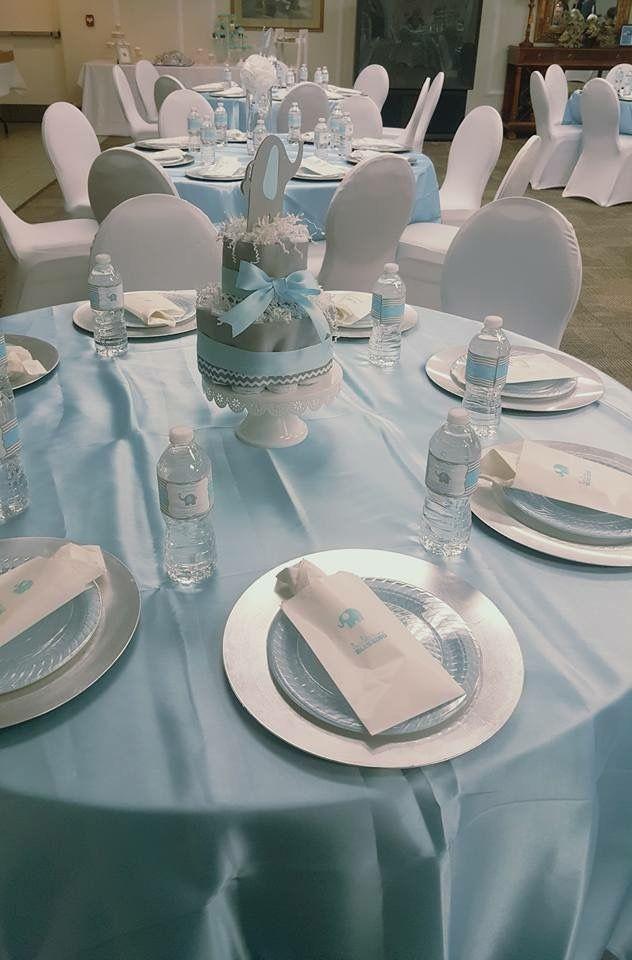 Table Cloths Colors Peanut Baby Shower Blue Baby Shower Baby Shower Deco