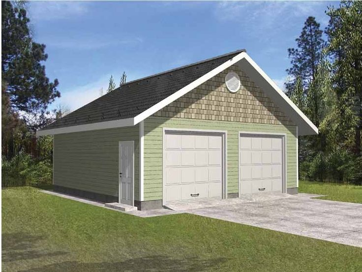 9 best garage plans images on pinterest attached garage for Attached garage addition plans
