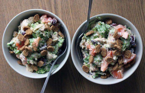 Весенний салат   Наша кухня - рецепты на любой вкус!