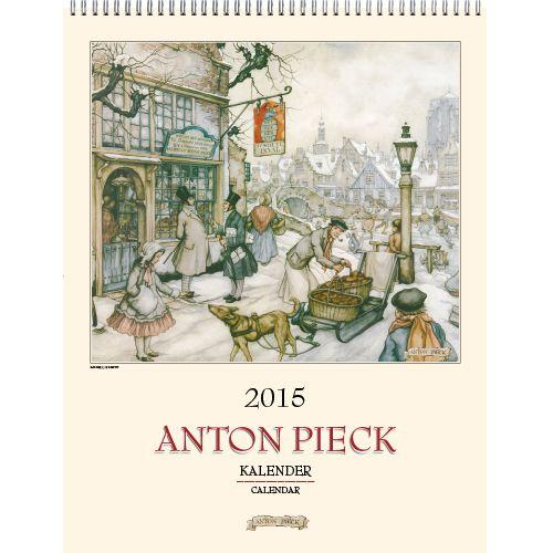 Anton Pieck ontwikkelde al vroeg een eigen stijl. Zonder dat hij daar op uit was, maakte deze stijl hem geliefd bij een miljoenenpubliek in binnen en buitenland. Zijn etsen, gravures, droge naalden, houtsneden en lithografieën trokken niet alleen de aandacht van kunstkenners en vakgenoten, maar ook van het publiek. Deze grote 2015 kalender bevat 6 van zijn mooiste werken. Ook een leuk cadeau voor de verzamelaar van Anton Pieck prenten. €13,99