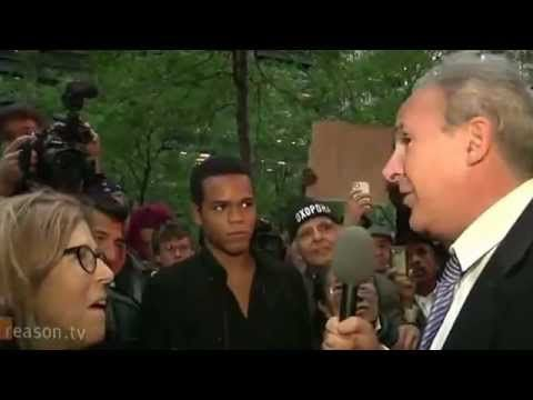 Peter Schiff educates misguided people at occupy wall street.
