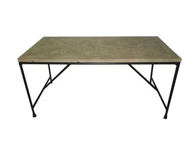 Ironstand Dining Table