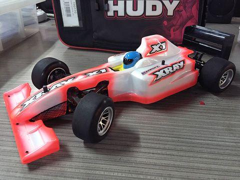 Radio contorelled car XRAY X1 wins Futaba Cup in Bangkok