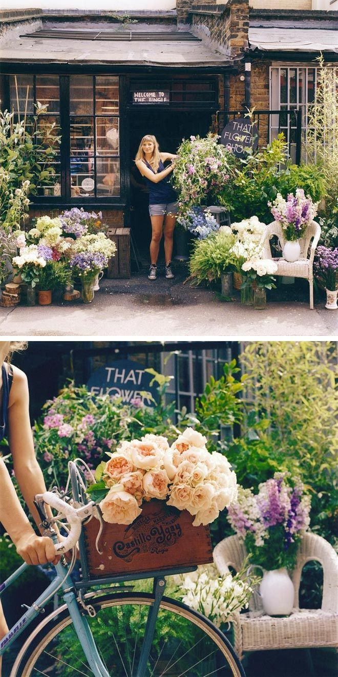 The Flower Shop by Hattie Fox, at the newly opened Ace Hotel in Shoreditch, London.