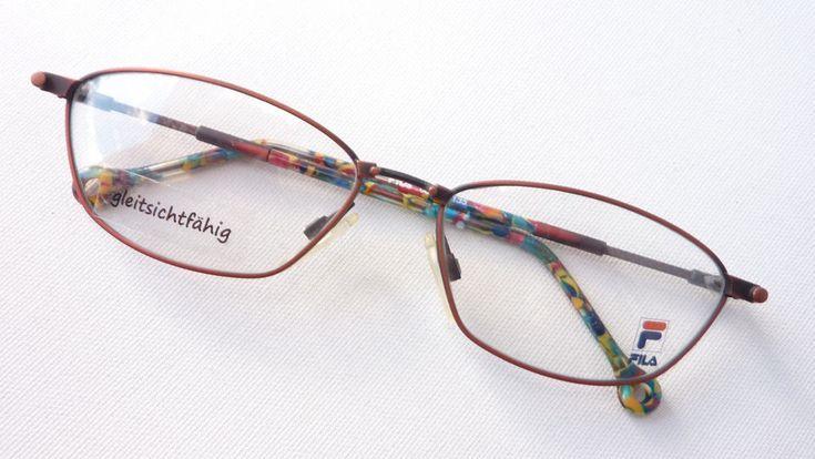 Preis vergleichen exquisites Design zahlreich in der Vielfalt Fila Metallfassung Brille Brillengestell für Frauen rot bunt ...