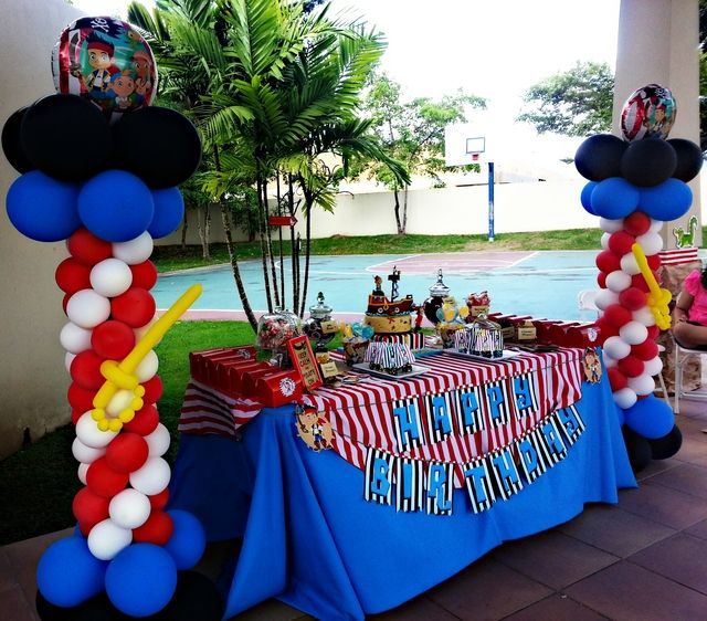 Jake And The Neverland Pirates Birthday Party Ideas | Photo 16 of 22 | Catch My Party