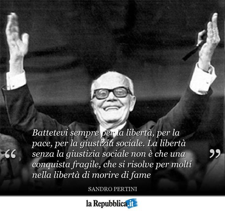 """25 settembre 1896 - Nasce Sandro Pertini, il """"presidente più amato dagli italiani"""" #AccaddeOggi"""