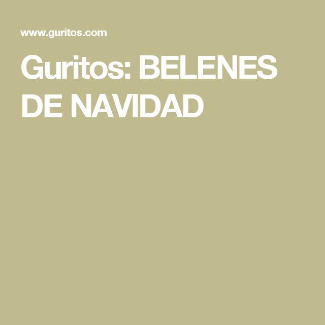 Guritos: BELENES DE NAVIDAD