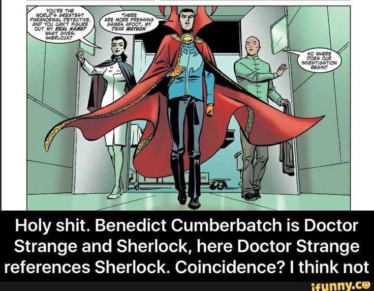 Doctor Strange/Sherlock crossover