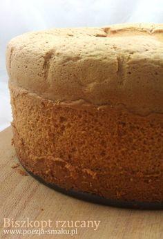 Biszkopt rzucany - idealny na tort. Basic Sponge Cake - perfect for cakes (recipe in Polish)