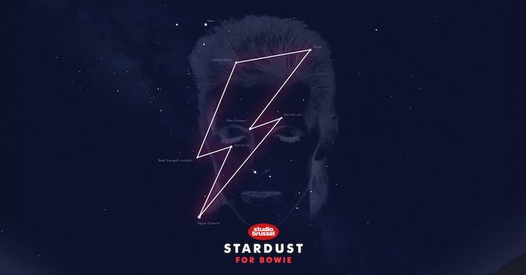 David Bowie Given His Own 'Starman' Lightning Bolt Shaped Constellation to Honor His Memory