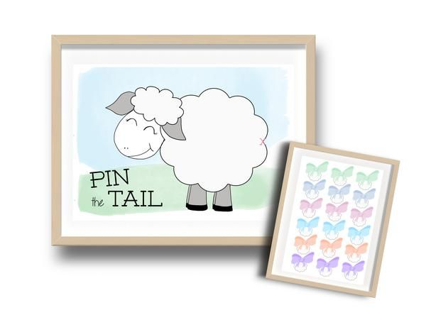 Get ready to keep the kiddies entertained this Eid with these awesome fun Eid Activity; Pin the Tail!