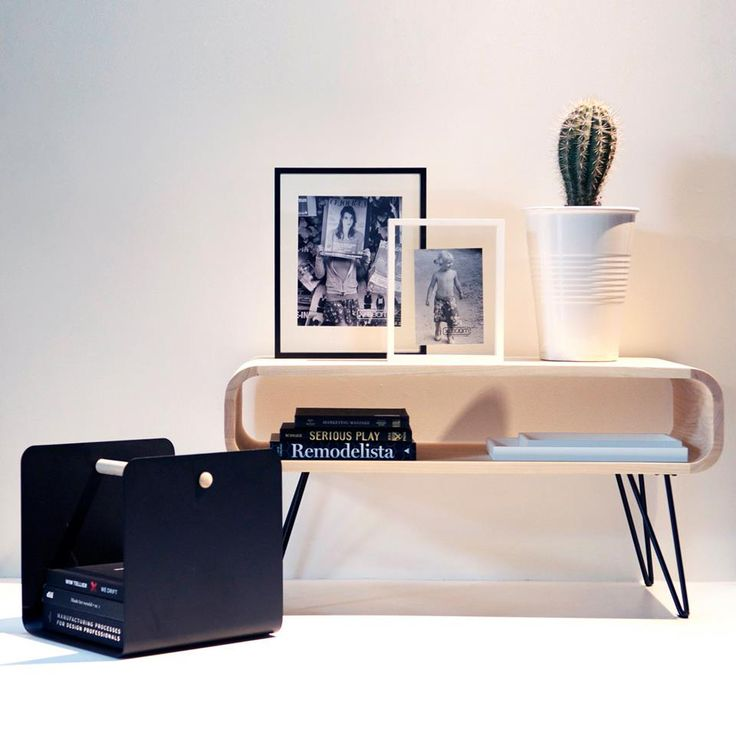 Metro coffee table, Flow rack and Floating box frames by XLBoom