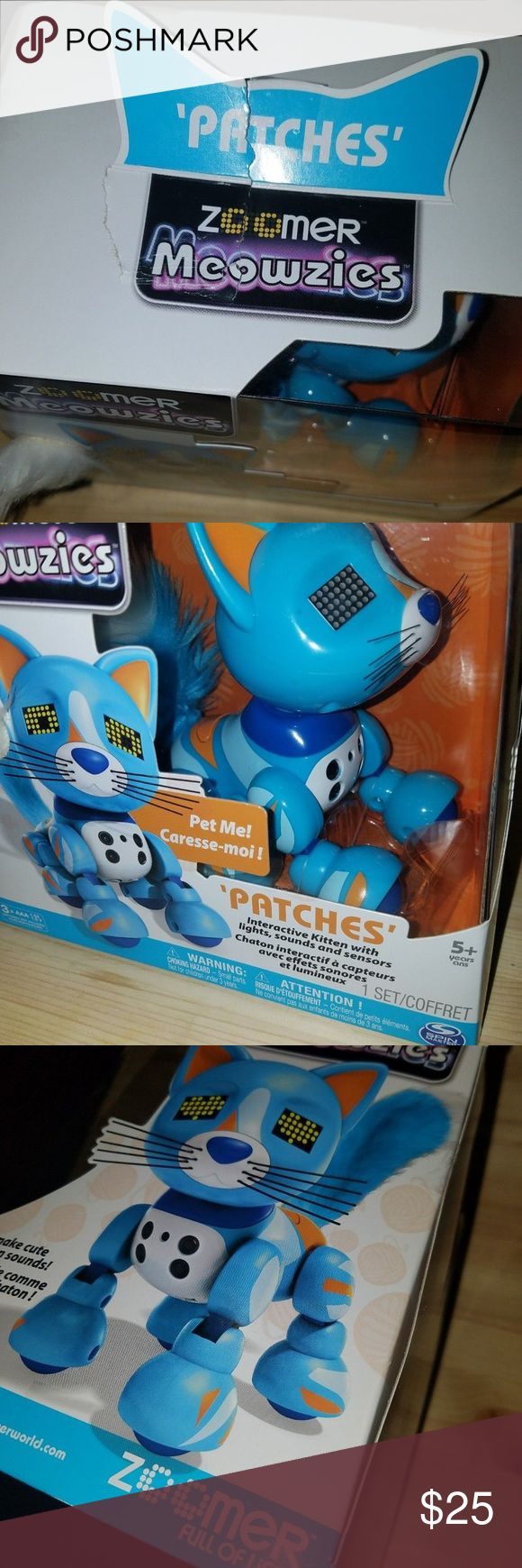 Zoomer Interactive Kitten W Lights Sounds Sensors With Images Kittens Things To Sell Kids Shop