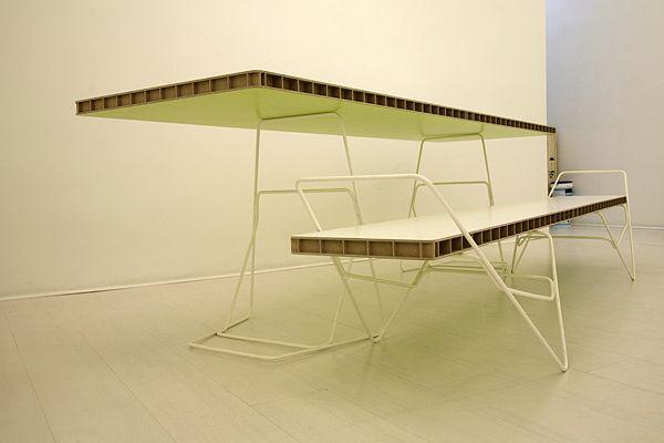 Mesa y banco. Pedro Feduchi (2011)