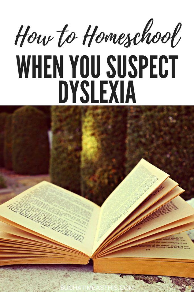 homeschooling with dyslexia #homeschooling #homeschoolmom #dyslexia