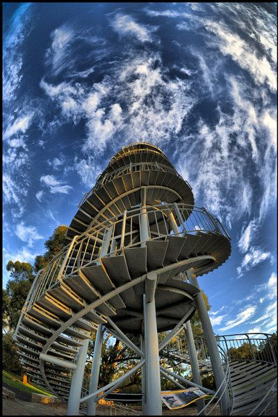 DNA Tower in Kings Park -Perth, Australia