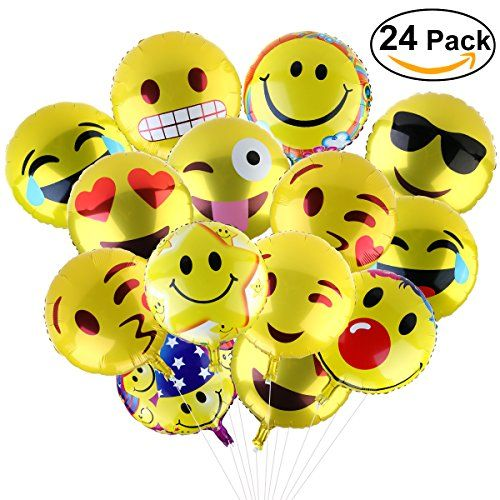 Are you looking for cute, fun, playful, memorable party decorations that will make your guests smile? Our Facial Expression mylar balloons are made of aluminum film, favorite facial expressions includes cool sunglass Facial Expression, heart eyes Facial Expression, kiss face Facial Expression, playful tongue. Funny to special wedding, celebration, holiday, birthday, party activities. It will …