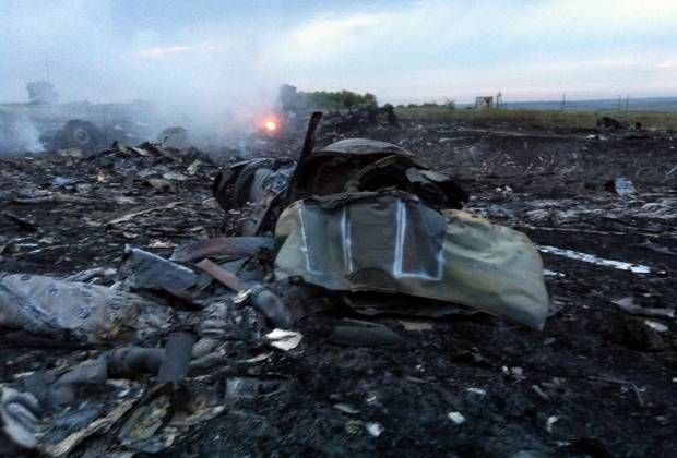 Pesawat Malaysia Airlines MH17 Jatuh di Ukraina