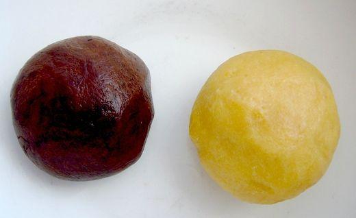 2 boules de pâte