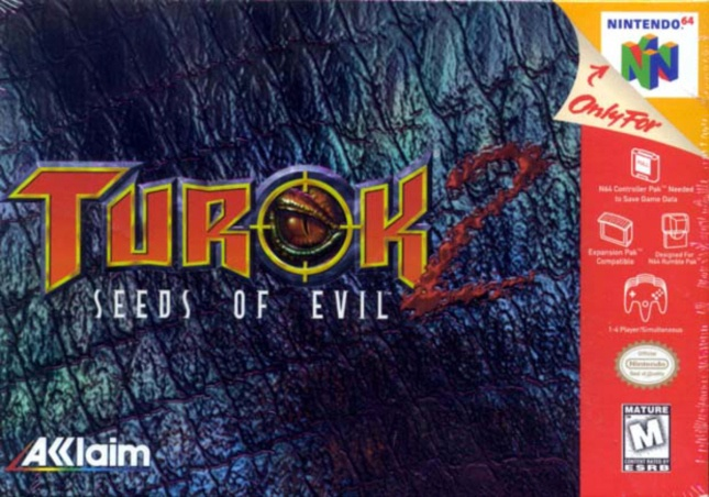 Turok 2: Seeds of Evil N64 by Iguana Entertainment