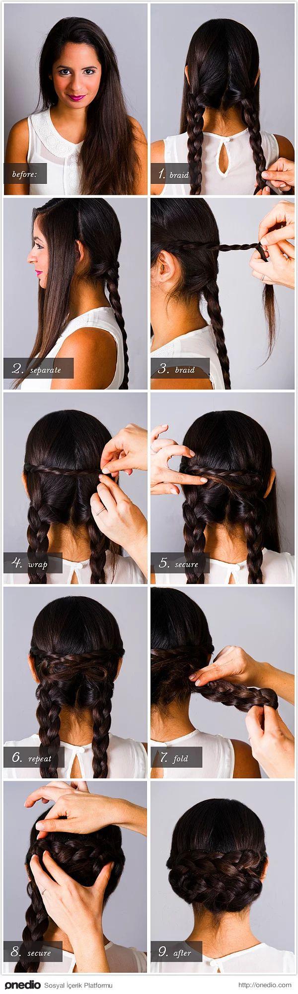 Kendi Başınıza Kolayca Yapabileceğiniz Hayat Kurtaran 24 Pratik Saç Modeli