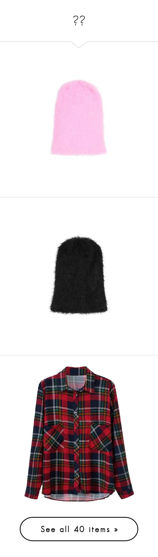"""""""👌🏻"""" by nuki-samson ❤ liked on Polyvore featuring accessories, hats, pink, slouch beanie, beanie cap hat, pink beanie hat, slouch beanie hats, topshop hats, black and slouchy beanie"""