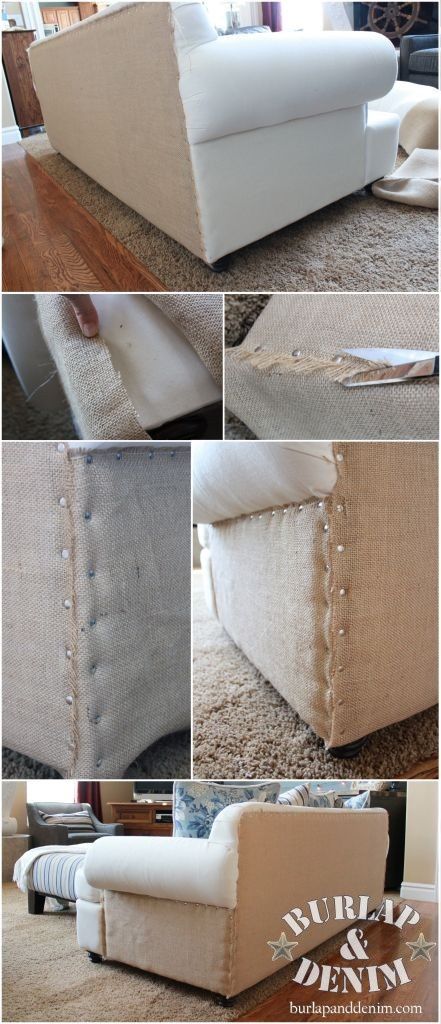 Restoration Hardware Inspired Sofa Make Under