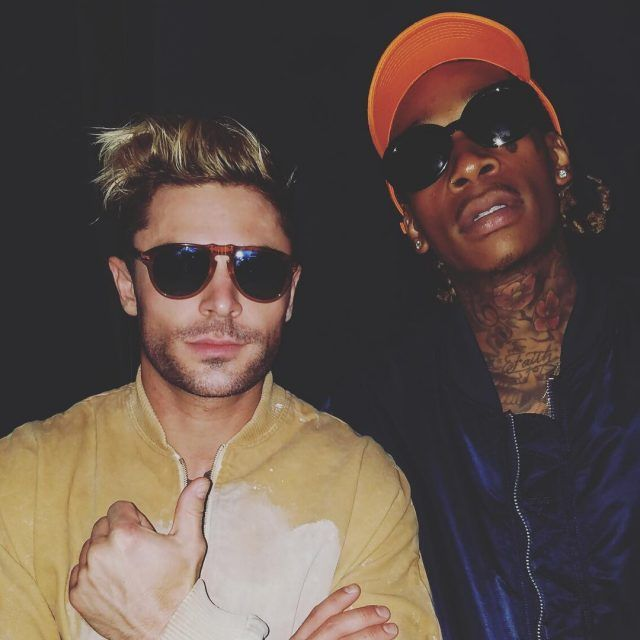 Spotted: Zac Efron and Wiz Khalifa in his Alpha Industries jacket on Upscale Hype. Shop the look: http://www.alphaindustries.com/mens-flight-jackets/alpha-industries-ma-1-flight-jacket.htm