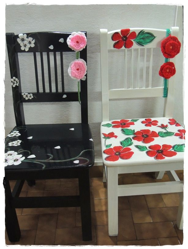 M s de 1000 ideas sobre sillas pintadas en pinterest for Decoracion sillas tapizadas