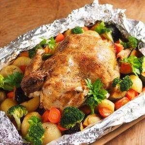 ∩・∀・)こんにちは~筋肉料理人です!皆さん、お元気ですかあ~今日のレシピはホームパーティー、誕生日、クリスマスに最適なローストチキン、鶏の丸焼きの作り方です。丸鶏を電子レンジのオーブン機能を使い、...