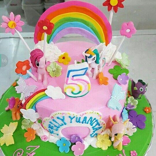 Little Pony birthday cake