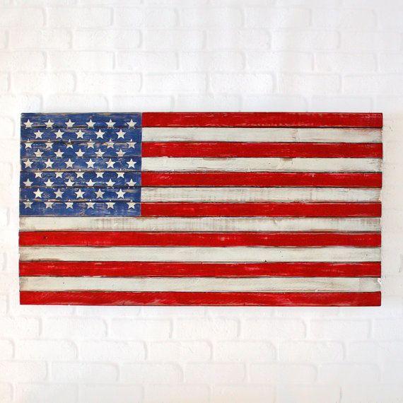 25+ unique American flag art ideas on Pinterest | Pallet ...