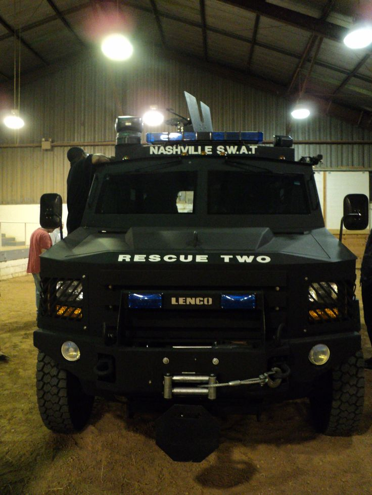 Front View Of Swat Vehicle A Girl Amp Her Tactics