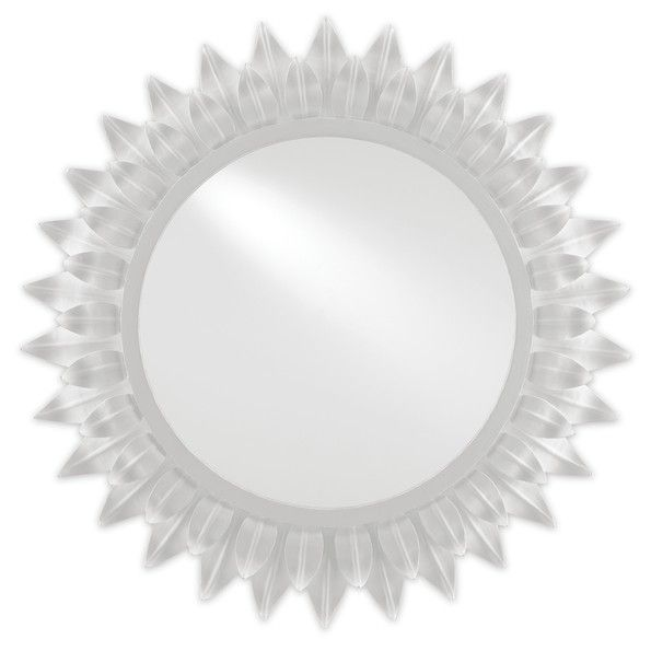 On Trend White Plaster Or Gesso Finished Lighting And Home Decor For A Fresh Modern Look Designed Mirror Decor Traditional Wall Mirrors Mirror