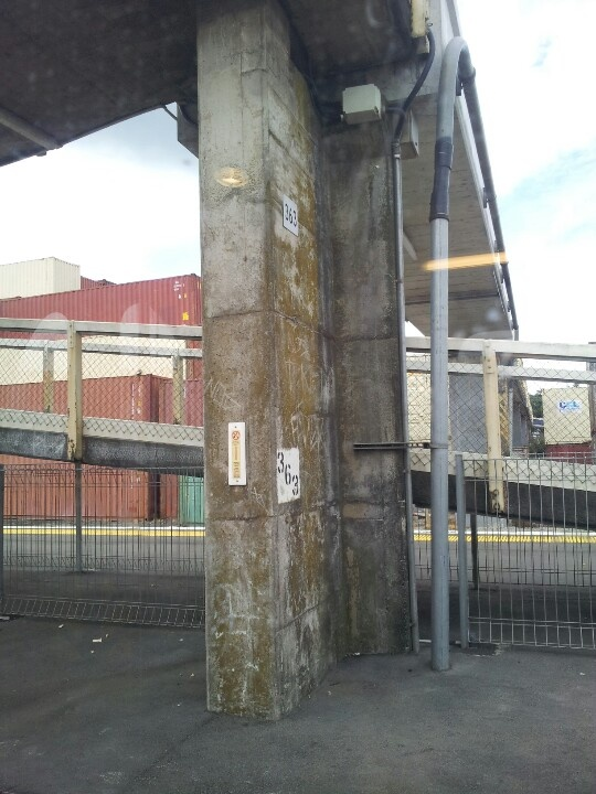 Compared this train station in Otahuhu.  .