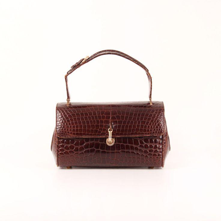 Vintage Croco Handbag.