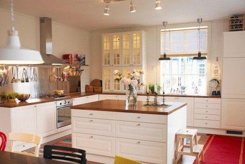 cuisine champetre noir et murale blanche - Recherche Google