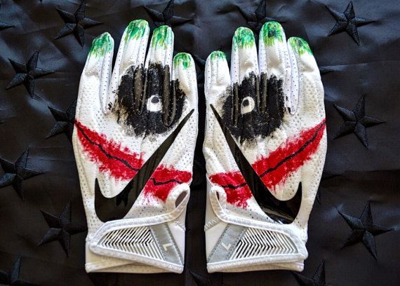 Joker Nike Superbad 4.0 Football by CgazzyIndustries on Etsy