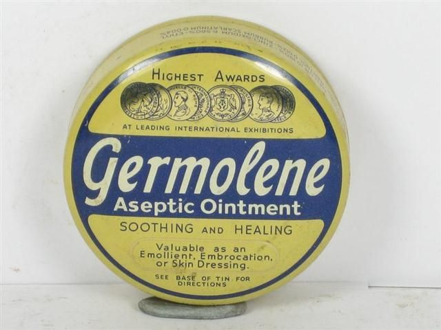 Never forget the smell of Germolene!