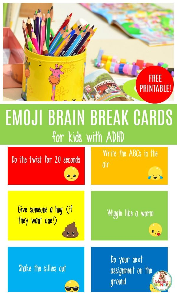 photograph relating to Break Cards for Students Printable identified as Pin upon soothing Recommendations for sensory integration
