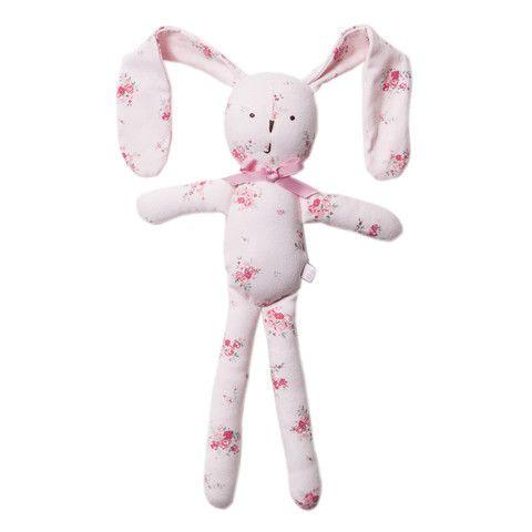 Bebe Iris XW14-888 Iris Print Iris Floppy Rabbit Rattle – Sweet Thing Baby & Childrens Wear #Kids #Gift #Stuff sweetthing.com.au