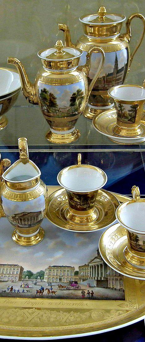 Royal tea set ~ royal residence of Empress Catherine in Pushkin | LBV ♥✤ | KeepSmiling | BeStayElegant
